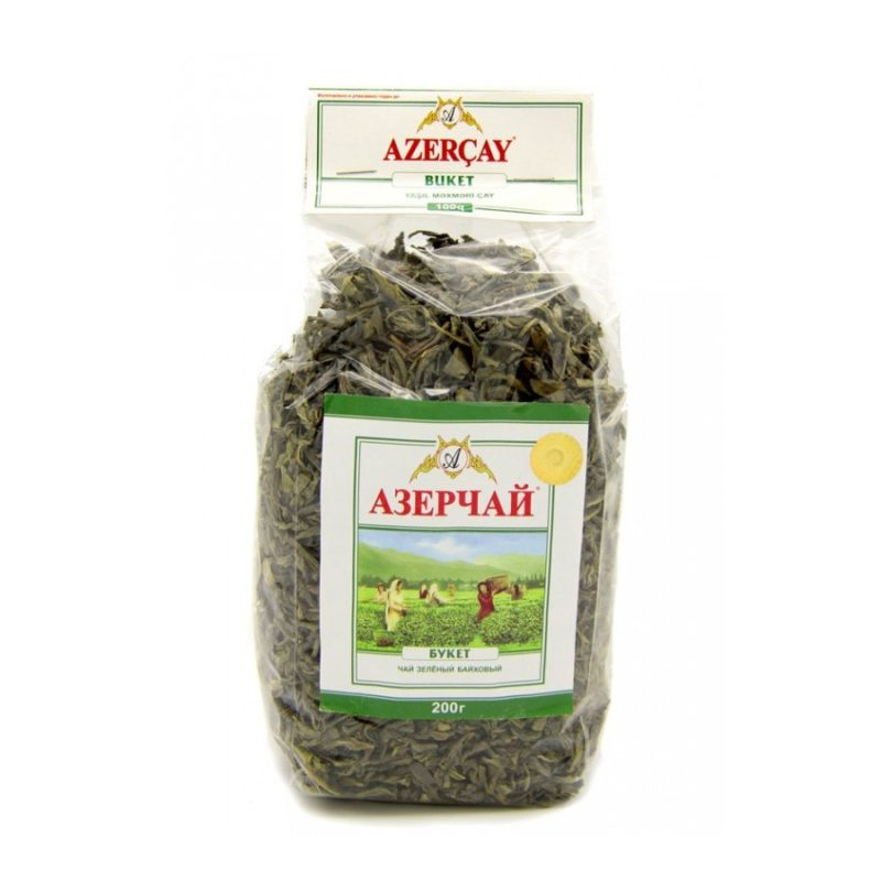 chai zelenii azerchaj buket 200