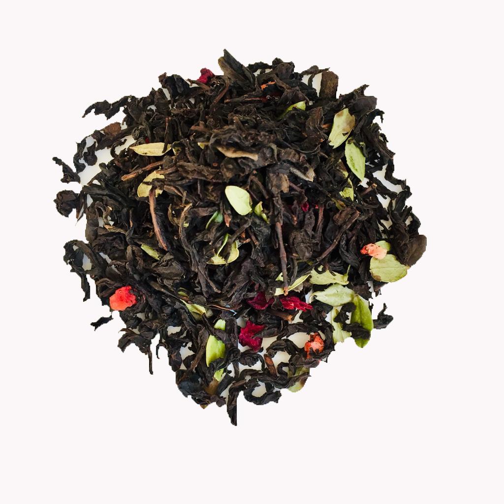 чай нури клубника со сливками